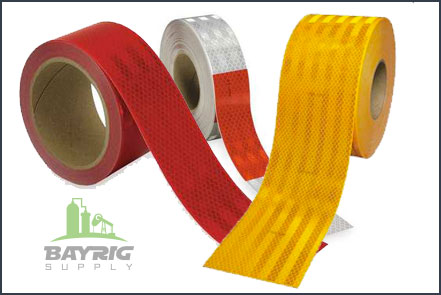 Conspicuity and Safety Tape from BayRig Supply