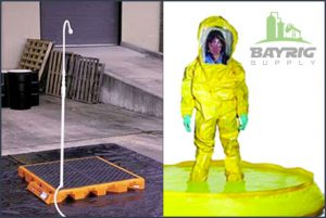 Decon Pools and Decon Showers from BayRig Supply