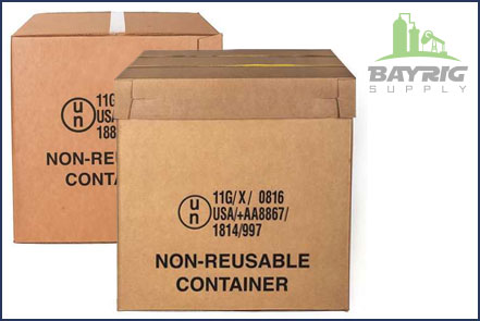 hazardous materials packaging from bayrig supply