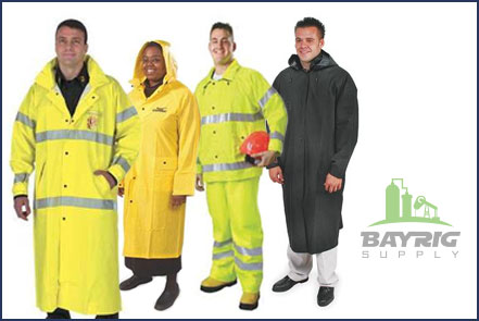 raincoats and rainsuits from BayRig Supply