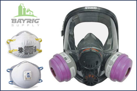 respirators and respirator supplies from bayrig supply