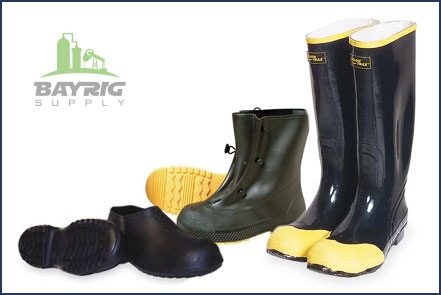 Rubber boots and rubbers from BayRig Supply