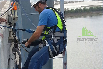 safety belts and harnesses from bayrig supply
