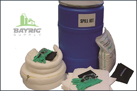 shop spill kit from bayrig supplies