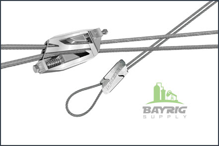 Wire rope and Wire Rope Fixtures from BayRig Supply